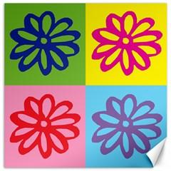 Flower Canvas 12  x 12  (Unframed)