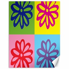 Flower Canvas 12  x 16  (Unframed)