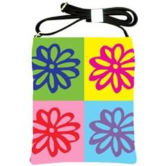Flower Shoulder Sling Bag