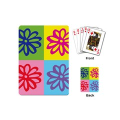 Flower Playing Cards (Mini)