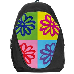 Flower Backpack Bag