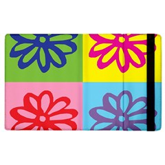 Flower Apple iPad 3/4 Flip Case