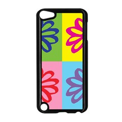 Flower Apple iPod Touch 5 Case (Black)