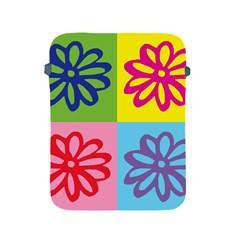 Flower Apple iPad Protective Sleeve