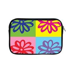 Flower Apple iPad Mini Zippered Sleeve