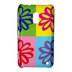Flower Nokia Lumia 620 Hardshell Case