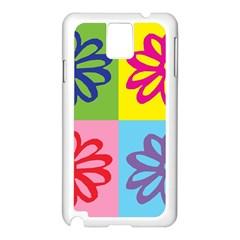 Flower Samsung Galaxy Note 3 N9005 Case (white)