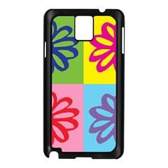 Flower Samsung Galaxy Note 3 N9005 Case (black)