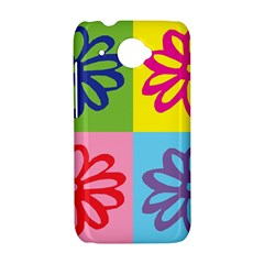 Flower HTC Desire 601 Hardshell Case