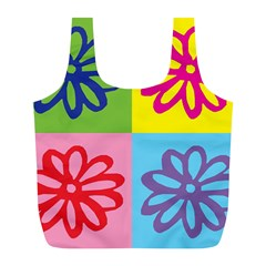 Flower Reusable Bag (l)