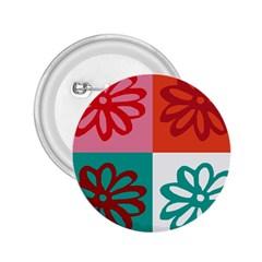 Flower 2.25  Button