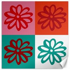 Flower Canvas 16  x 16  (Unframed)