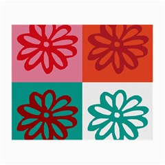Flower Glasses Cloth (Small, Two Sided)