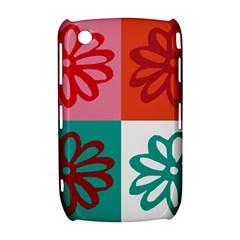 Flower BlackBerry Curve 8520 9300 Hardshell Case