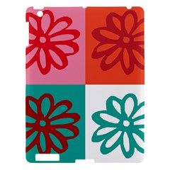 Flower Apple iPad 3/4 Hardshell Case