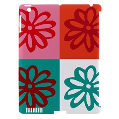 Flower Apple Ipad 3/4 Hardshell Case (compatible With Smart Cover)