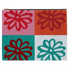 Flower Cosmetic Bag (XXXL)