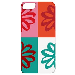 Flower Apple Iphone 5 Classic Hardshell Case