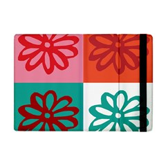Flower Apple Ipad Mini Flip Case