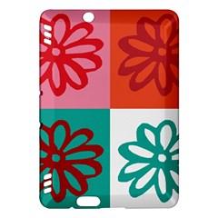 Flower Kindle Fire HDX 7  Hardshell Case