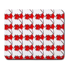Palm Tree Pattern Vivd 3d Look Large Mouse Pad (Rectangle)