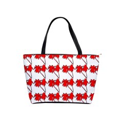 Palm Tree Pattern Vivd 3d Look Large Shoulder Bag
