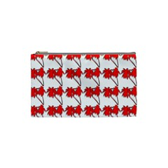Palm Tree Pattern Vivd 3d Look Cosmetic Bag (Small)