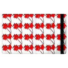 Palm Tree Pattern Vivd 3d Look Apple iPad 2 Flip Case