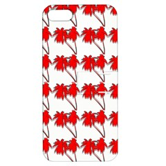 Palm Tree Pattern Vivd 3d Look Apple iPhone 5 Hardshell Case with Stand