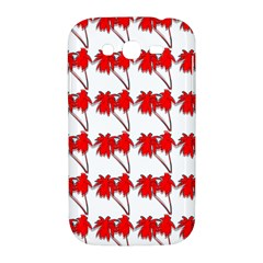 Palm Tree Pattern Vivd 3d Look Samsung Galaxy Grand DUOS I9082 Hardshell Case