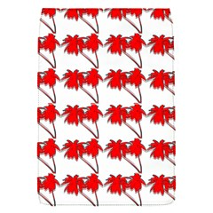 Palm Tree Pattern Vivd 3d Look Removable Flap Cover (Small)