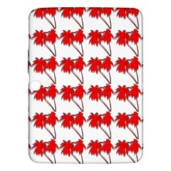 Palm Tree Pattern Vivd 3d Look Samsung Galaxy Tab 3 (10.1 ) P5200 Hardshell Case