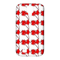 Palm Tree Pattern Vivd 3d Look Samsung Galaxy S4 Classic Hardshell Case (PC+Silicone)