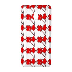 Palm Tree Pattern Vivd 3d Look HTC One mini Hardshell Case