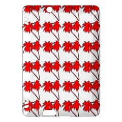 Palm Tree Pattern Vivd 3d Look Kindle Fire HDX 7  Hardshell Case