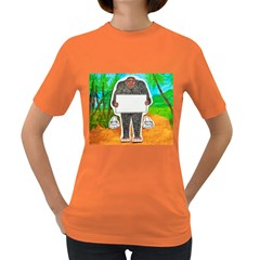 Yowie H,text In Aussie Outback, Women s T-shirt (Colored)