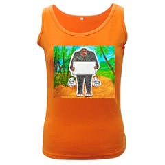 Yowie H,text In Aussie Outback, Women s Tank Top (Dark Colored)