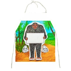 Yowie H,text In Aussie Outback, Apron