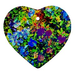 The Neon Garden Heart Ornament