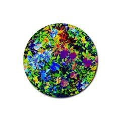 The Neon Garden Drink Coaster (Round)