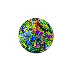 The Neon Garden Golf Ball Marker 10 Pack