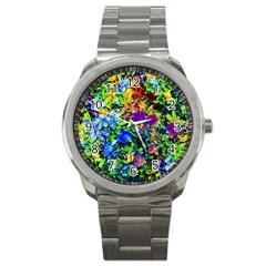The Neon Garden Sport Metal Watch