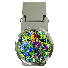 The Neon Garden Money Clip With Watch