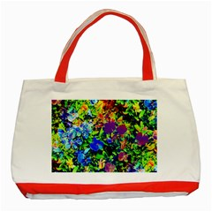 The Neon Garden Classic Tote Bag (Red)