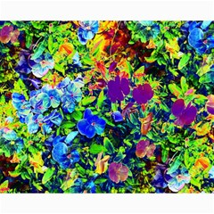 The Neon Garden Canvas 16  x 20  (Unframed)