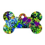 The Neon Garden Dog Tag Bone (Two Sided) Front
