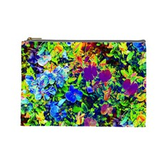 The Neon Garden Cosmetic Bag (large)