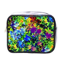 The Neon Garden Mini Travel Toiletry Bag (one Side)