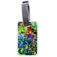 The Neon Garden Luggage Tag (two Sides)