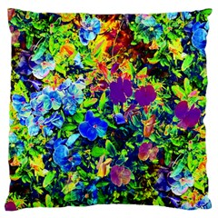 The Neon Garden Large Cushion Case (two Sided)